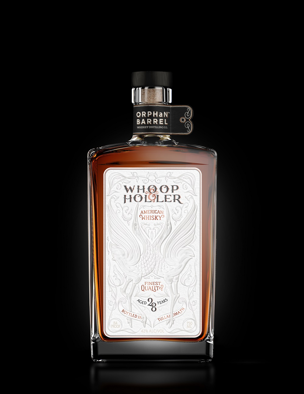 Diageo Orphan Barrel Project Whoop & Holler American Whiskey 28 Years Old