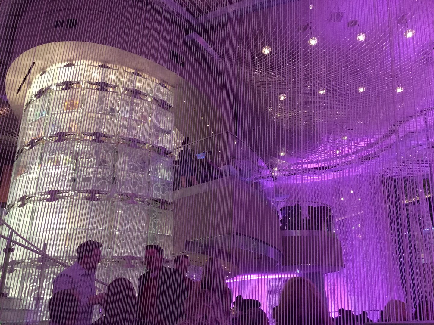 Bar review the chandelier lounge at the cosmopolitan las vegas las vegas has no shortage of high end drinking establishments but stepping inside of a three story tall chandelier to get your drink on aloadofball Images