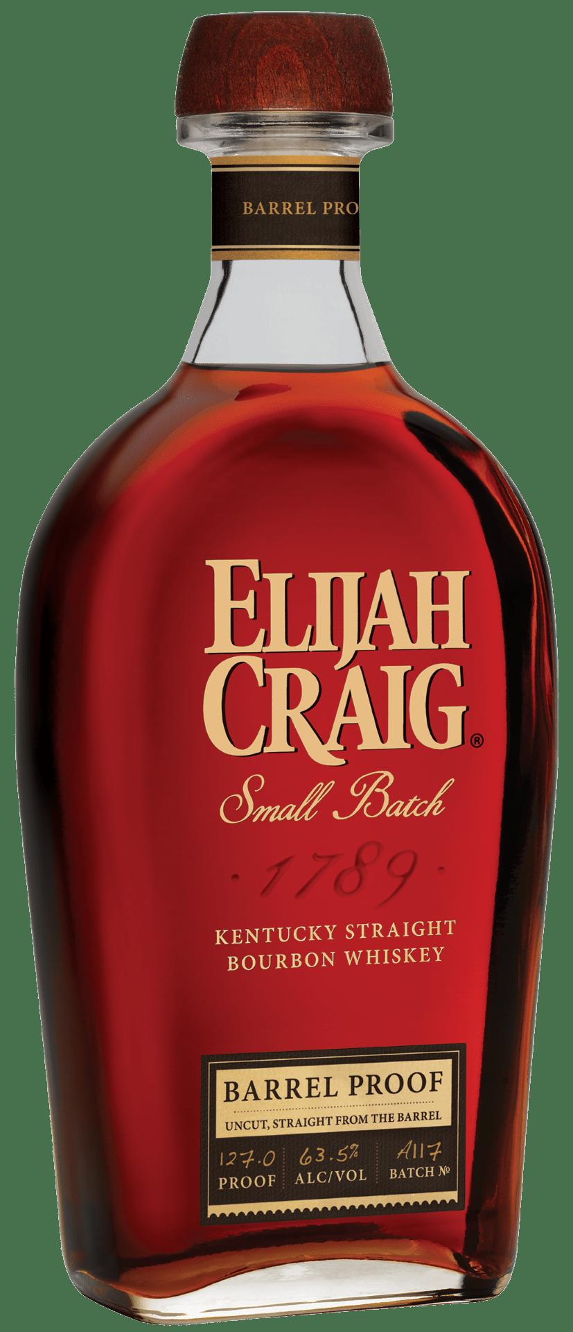 Elijah Craig Barrel Proof Batch A117 (January 2017)