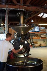 Large roaster machine