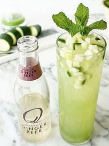 Q Cucumber Apple Mule