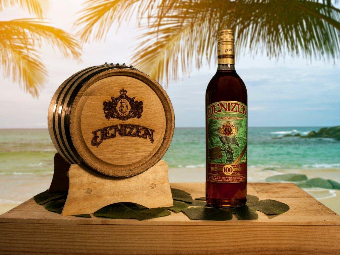 Denizen Dark Vatted Rum