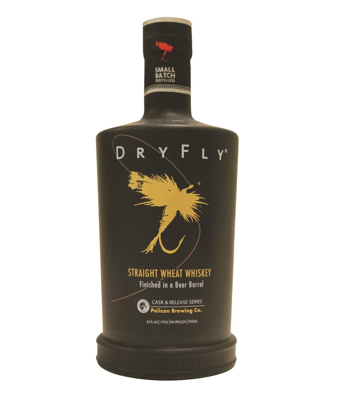 Dry Fly Distilling Straight Wheat Whiskey Finished in a Beer Barrel