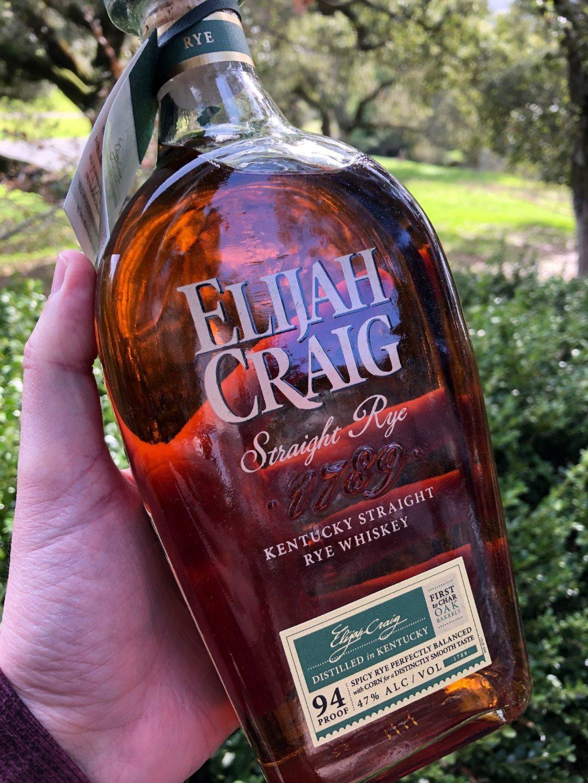 Elijah Craig Rye
