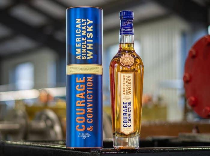 Virginia Distillery Courage & Conviction American Single Malt Whisky