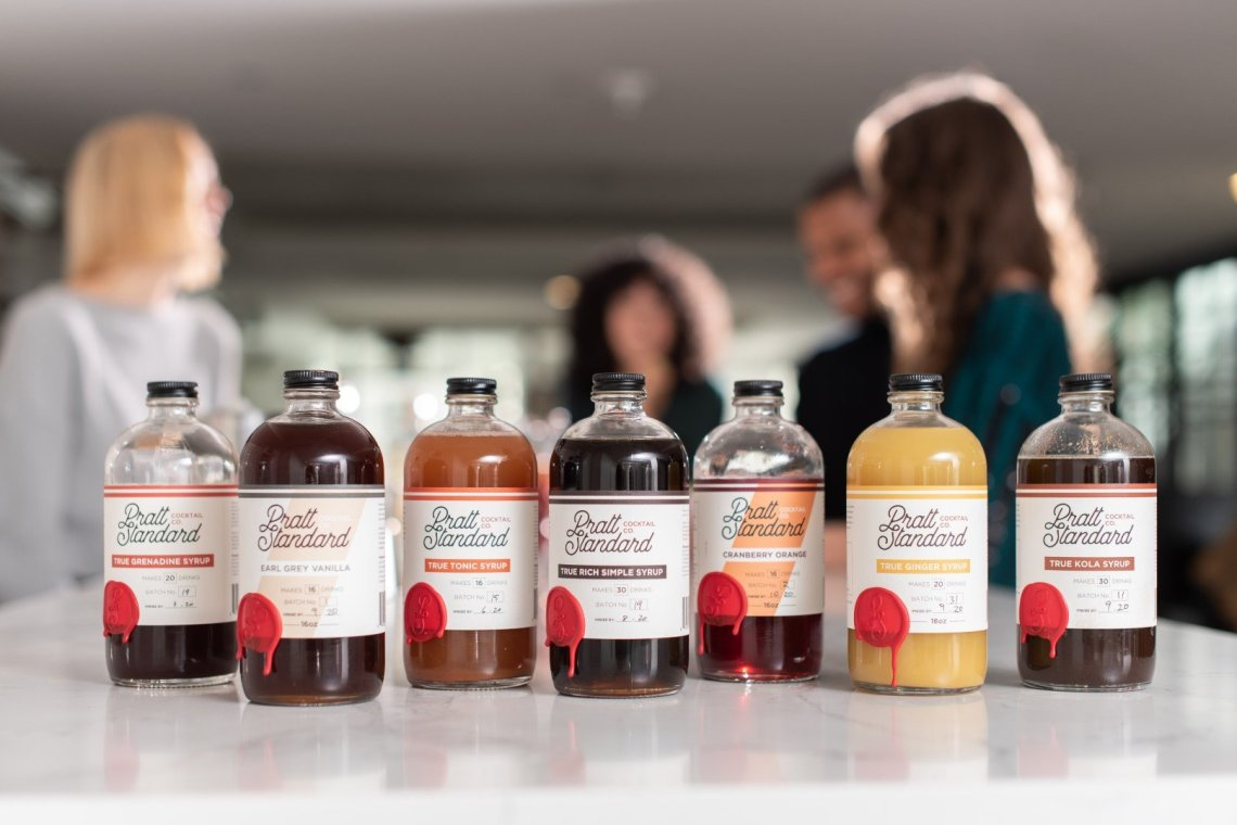 Pratt Standard True Rich Simple Syrup