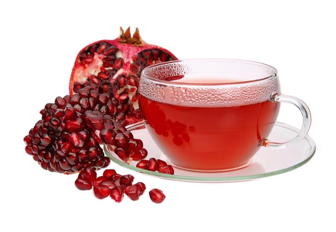 Image result for pomegranate tea