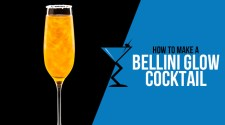 Bellini Glow Cocktail