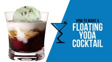 Floating Yoda Cocktail