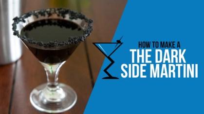 The Dark Side Martini