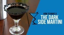 The Dark Side Martini