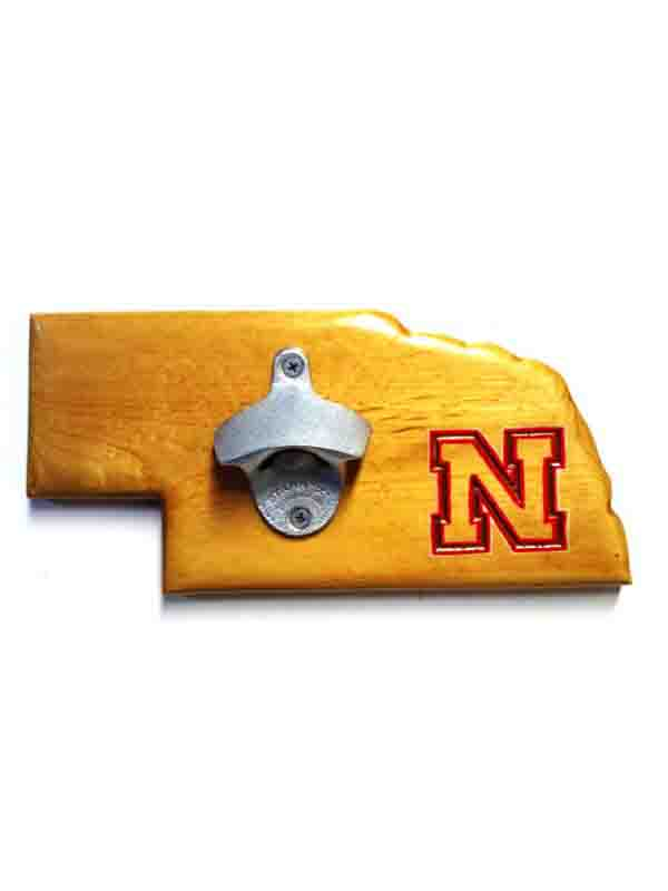 Nebraska Bottle Opener