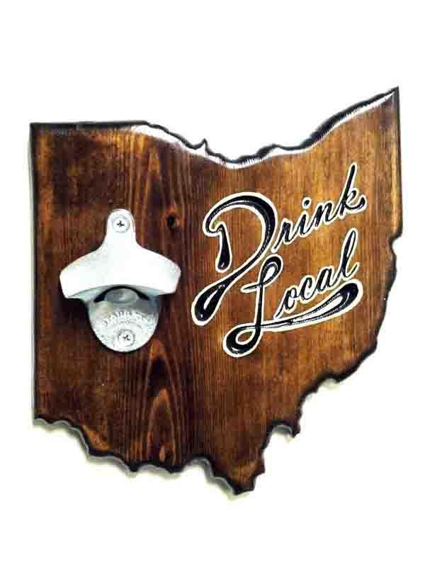Ohio Bottle Opener