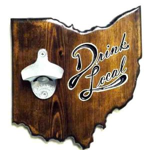 Ohio Bottle Opener