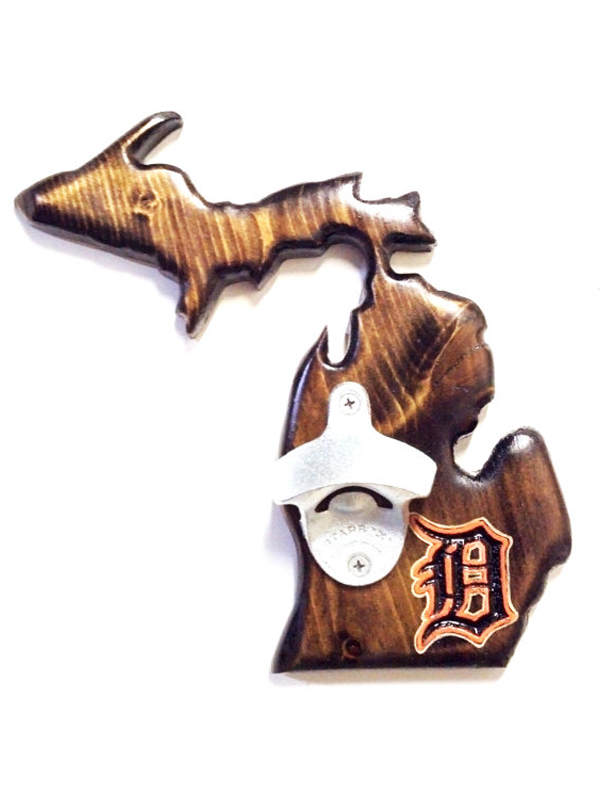 Tigers-Michigan-wUP-Bottle-Opener-Dark-Walnut