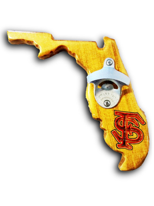Florida Bottle Opener - Pecan