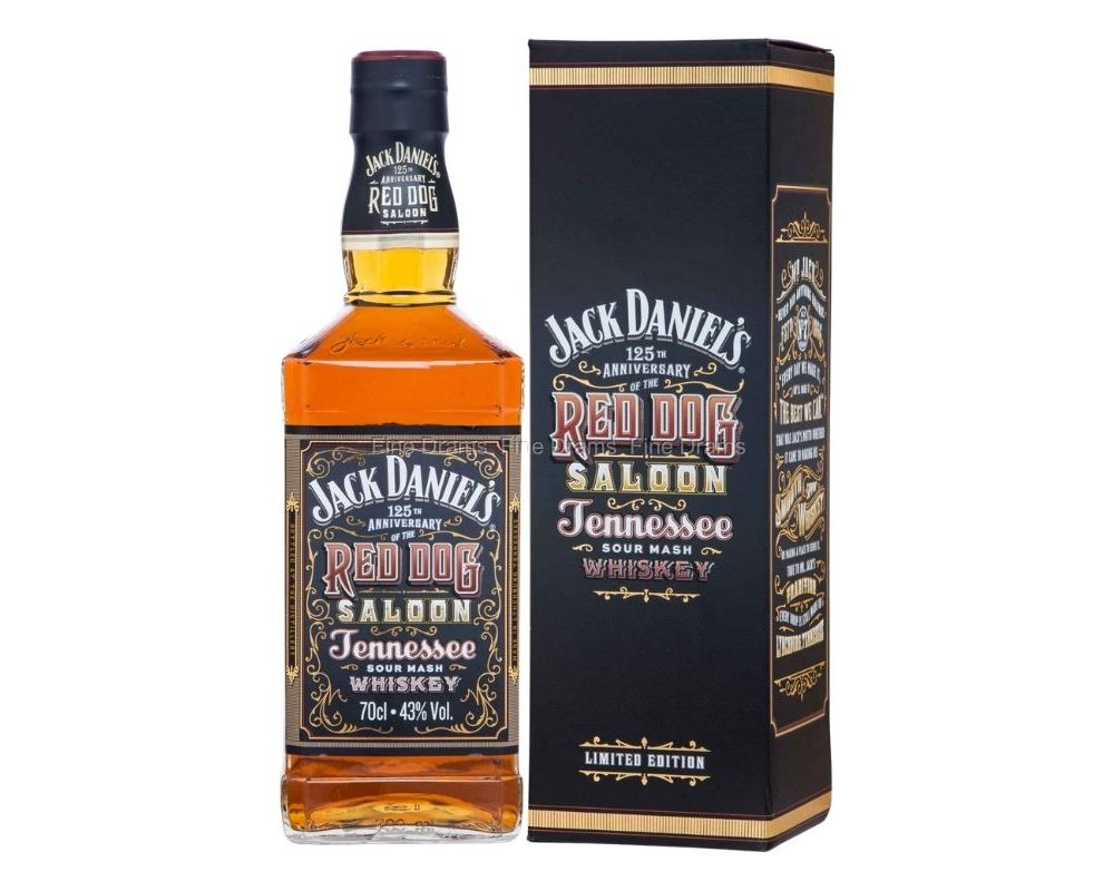 Jack Daniel's Red Dog Saloon Tennessee Whiskey 125th Anniversary Ltd Edition 70cl