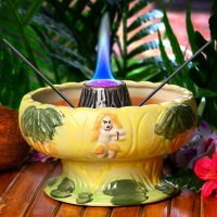Flaming Volcano Bowl 48oz / 1.36ltr | Drinkstuff