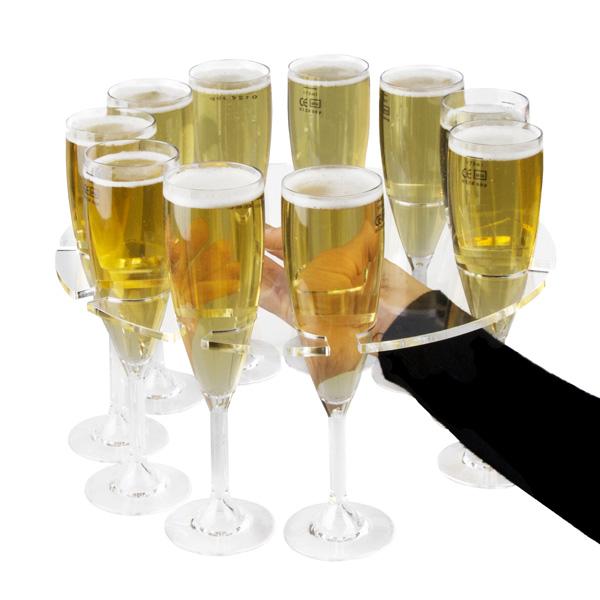 kitchen stuff for sale chalkboard art plastic champagne glass tray at drinkstuff