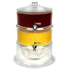 Kitchen Stuff For Sale Inexpensive Table Sets 3-tier Drink Dispenser 11.25ltr | Beverage Juice ...