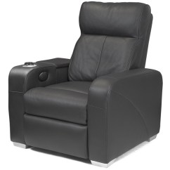 Euro Recliner Chair Round Table With Chairs For Office Premiere Home Cinema Black | Seating Massage - Buy At Drinkstuff