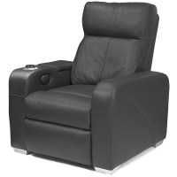 Premiere Home Cinema Chair Black | Cinema Seating Massage ...