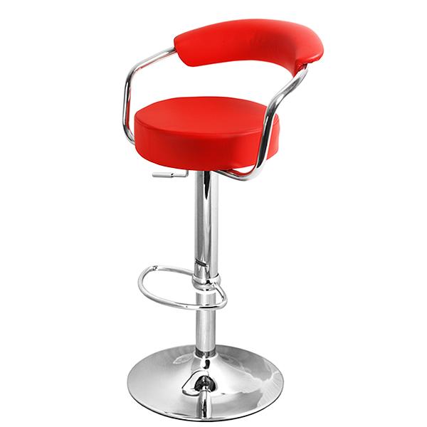 Zenith Bar Stool Red  Drinkstuff