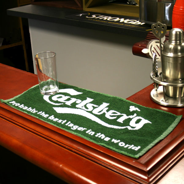 runners kitchen commercial cleaning carlsberg bar towel | buy accessories branded ...