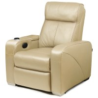 Premiere Home Cinema Chair Beige | Cinema Seating Massage ...
