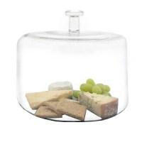 Just Slate Round Glass Cloche | Tableware