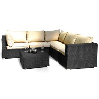ES London Patio Corner Sofa Group | Patio Furniture Garden ...