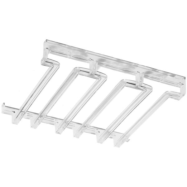 acrylic modular stemware rack