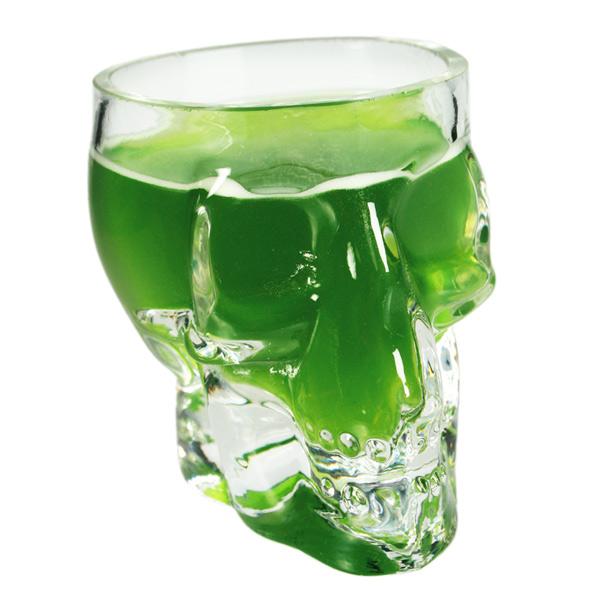 Mini Skull Shot Glass 26oz  75ml  Drinkstuff