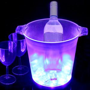 Ice Blue LED Ice Bucket