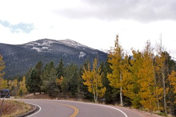 Views from Pike's Peak Highway. Photo by Jennifer Boyer via Flickr CC