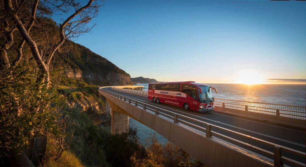 Greyhound Australia bus