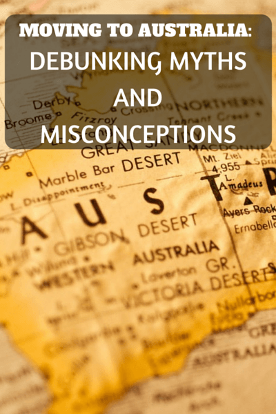 If you have ever considered moving to Australia, then read on as I debunk 5 most common myths and misconceptions about moving to Australia.