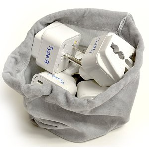 Best Gifts for Travelers: nternational Travel Worldwide Plug Adapter Set