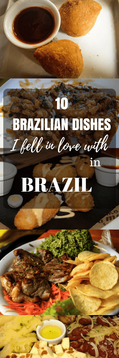 After two weeks of being a food snob, it's time to share my findings. Here are 10 Brazilian dishes I fell in love with here in Brazil.
