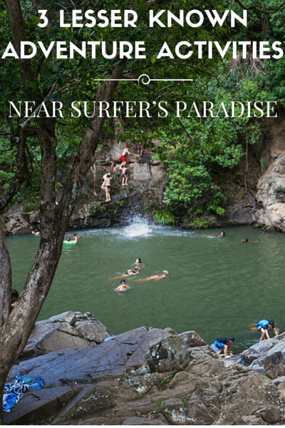 Surfers Paradise is not just a stop for beach bums and party animals, it is located right in the heart of the Gold Coast, an adventure lovers paradise!