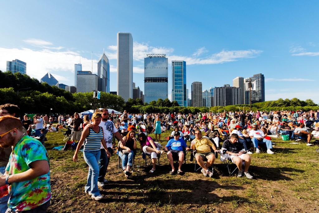 Chicago Blues Festival. Photo by tomanouc via Flickr CC