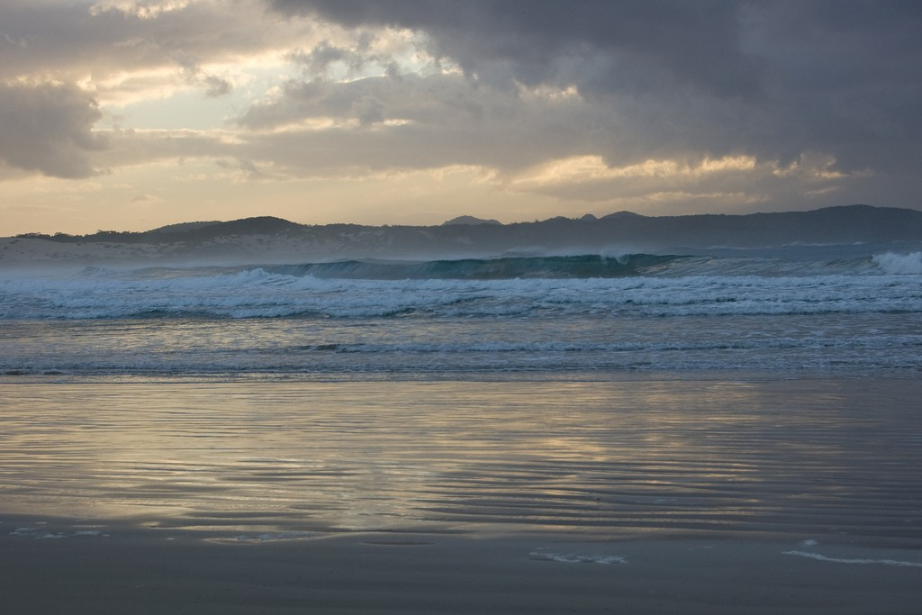 Port Stephens, One Mile Beach.