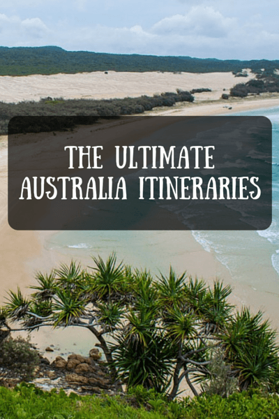 Everyone's ideal Australia itinerary will look different.
