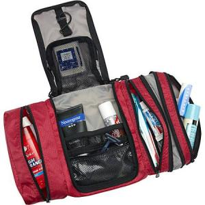 Best gifts for travelers: eBags Pack-it-Flat Toiletry Kit