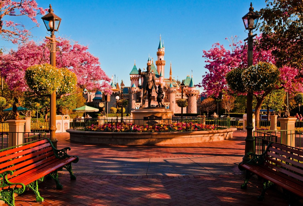 Disneyland, Anaheim, CA. Photo by Tom Bricker via Flickr CC