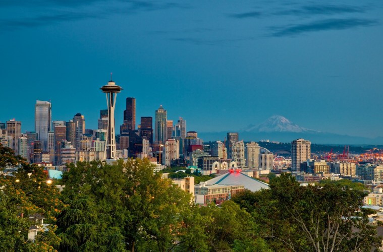 Seattle City Guide. Cover Photo. Photo by Don Sullivan via Flickr CC