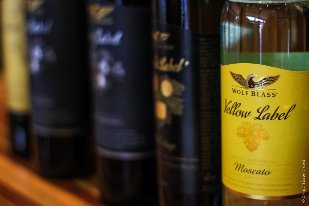 Yellow Label Moscato, Wolf Blass Winery