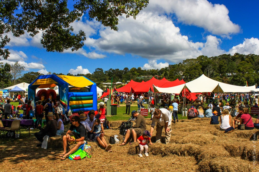 Real Food Festival in Maleny, Queensland, Australia