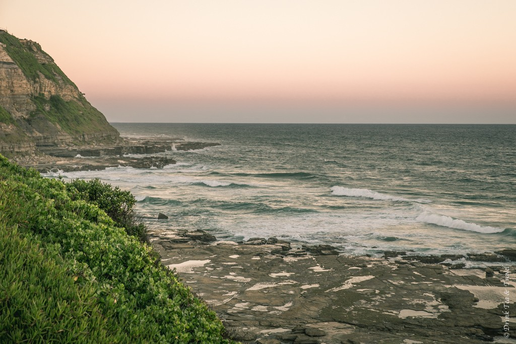 View from Memorial Drive in Newcastle, NSW
