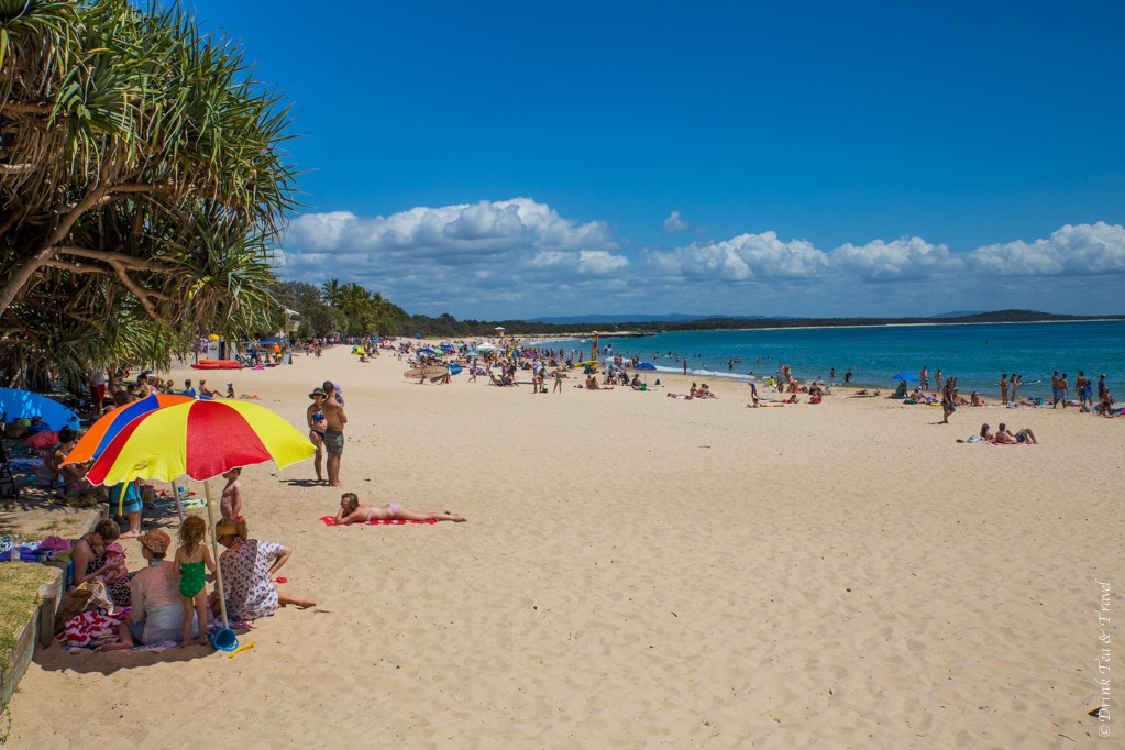 Noosa Main Beach, Noosa National Park